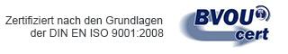 Das Orthopaedicum Spandau seit dem 20.05.2014 die BVOUcert Zertifizierung nach DIN EN ISO 9001:2008 erhalten.